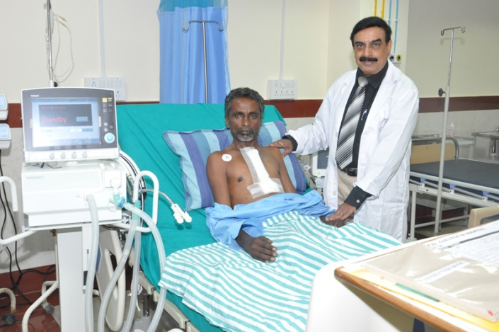Open Heart Surgery done by Dr.H.P.Prabhuswamy